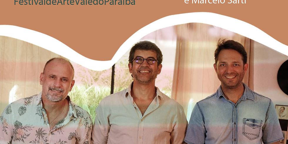Rodrigo Zanc, Cláudio Lacerda e Marcelo Sarti