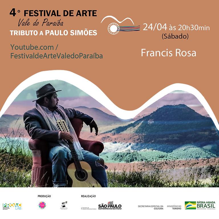 Francis Rosa | 4º Festival de Arte Vale do Paraíba