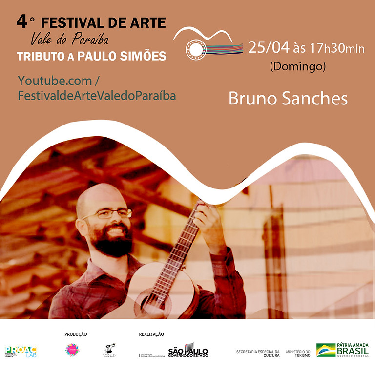 Bruno Sanches | 4º Festival de Arte Vale do Paraíba