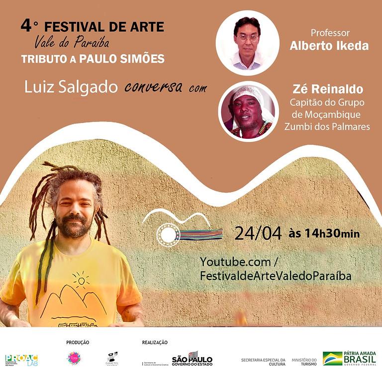 Encontro sobre cultura popular: Cultura popular brasileira e a miscigenação de raças.