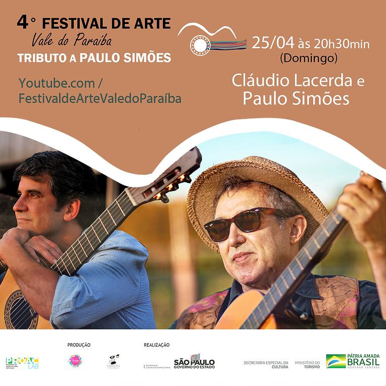 Cláudio Lacerda e Paulo Simões | 4º Festival de Arte Vale do Paraíba