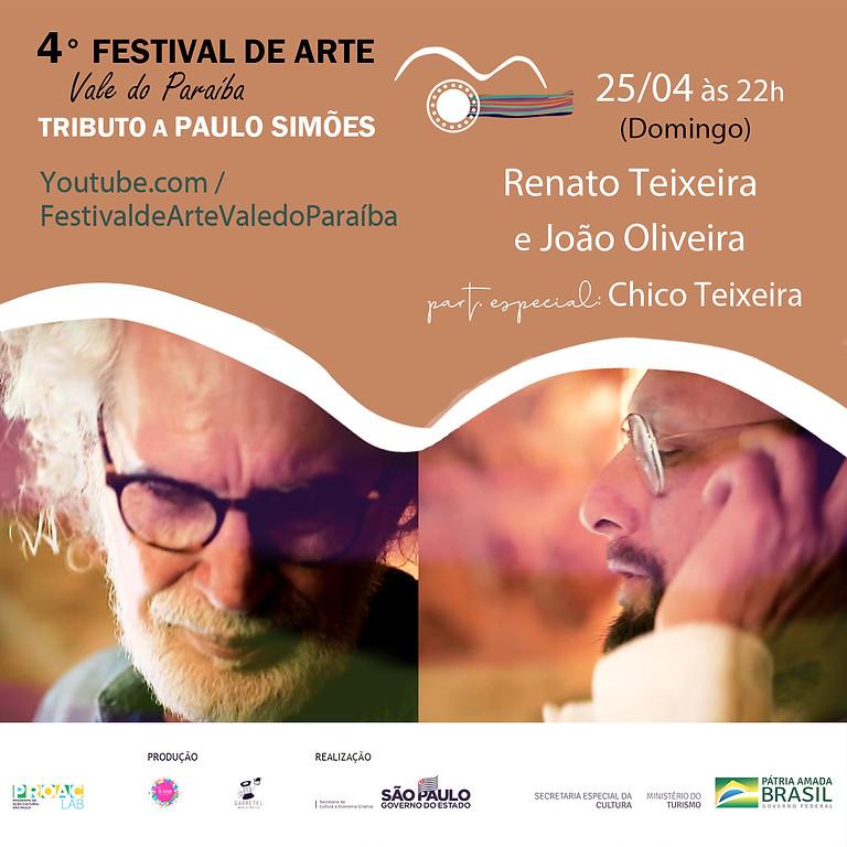 Renato Teixeira e João Oliveira (com participação especial de Chico Teixeira) | 4º Festival de Arte Vale do Paraíba