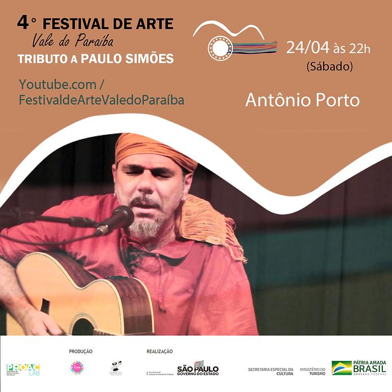 Antônio Porto | 4º Festival de Arte Vale do Paraíba