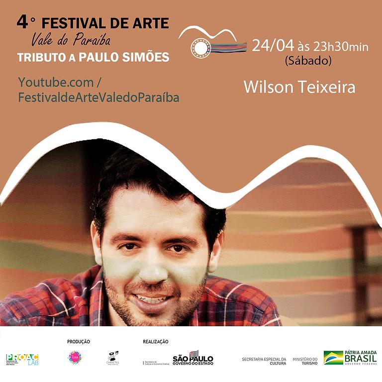 Wilson Teixeira | 4º Festival de Arte Vale do Paraíba