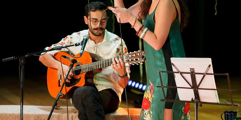 Lia Marques e Léo Couto