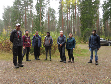 Group excursion to Limes Norrlandicus