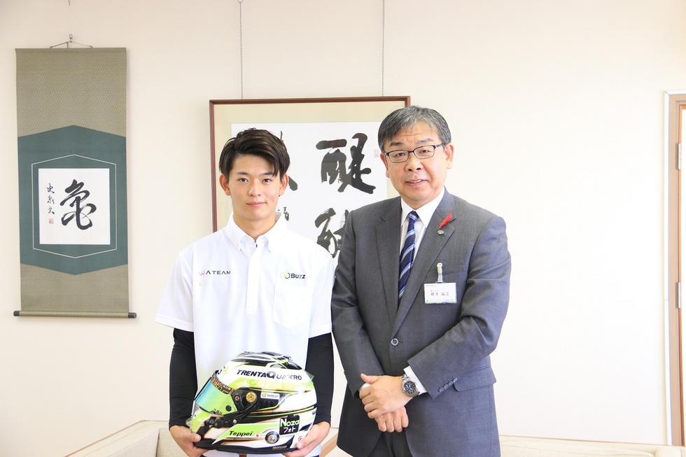 櫻井義之亀山市長へ表敬訪問