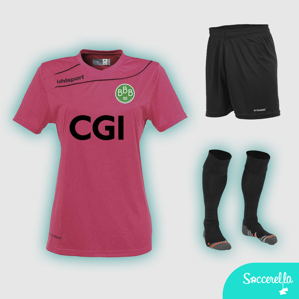 U15s away shirts sponsor - CGI