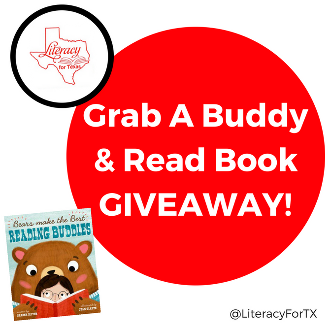 Grab A Buddy & Read Book GIVEAWAY!