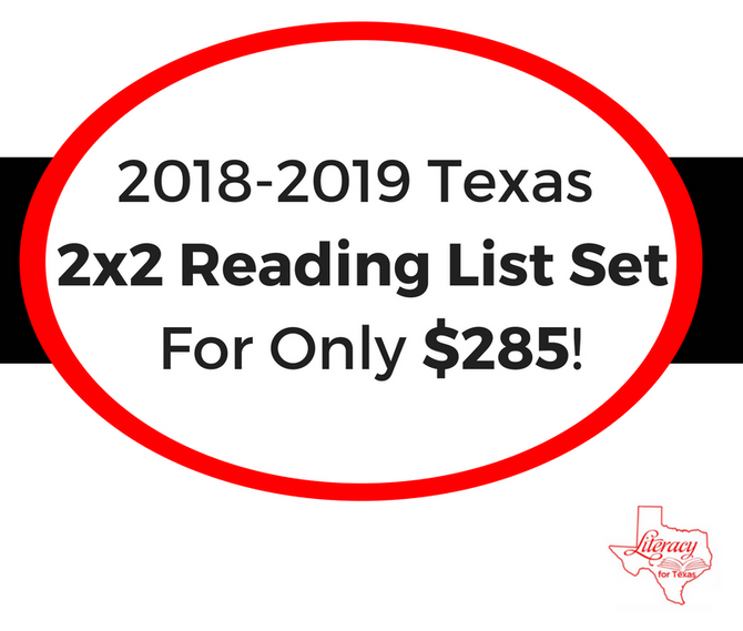 Get The Texas 2x2 Reading List Set For Only $285!
