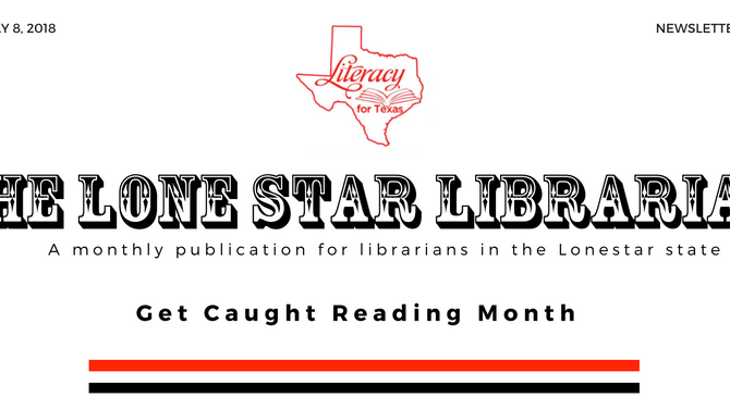 Let's Celebrate Get Caught Reading Month