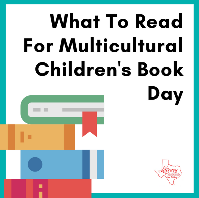 What To Read For Multicultural Children's Book Day