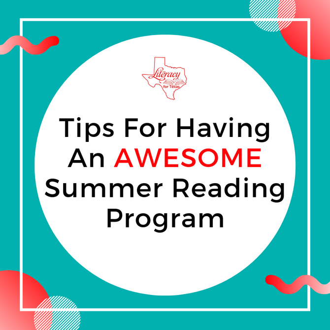 Tips For Having An AWESOME Summer Reading Program