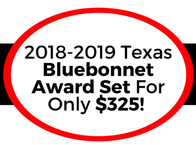 Get the Texas Bluebonnet Award Set for only $325!