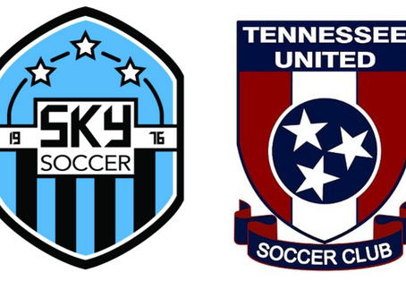 SKY SOCCER CLUB and TENNESSEE UNITED SOCCER CLUB ANNOUNCE PARNERSHIP