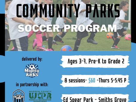 Community Parks Soccer Program