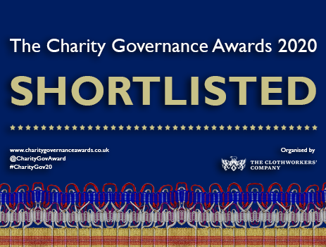 Shortlisted for the Charity Governance Awards 2020