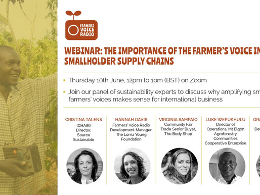 Webinar recording: The Importance of the Farmer's Voice in Smallholder Supply Chains