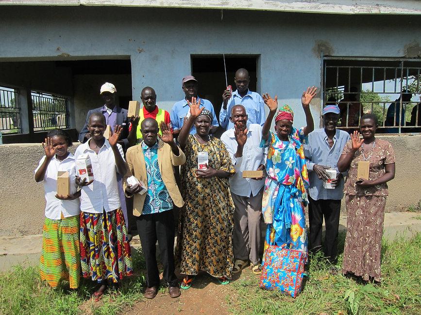 Uganda- NIMFRU farmer listener group in