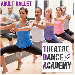 Adult ballet class oldham