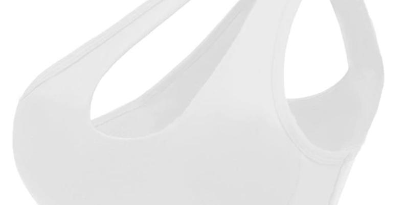 Cross Shoulder Sports Bra