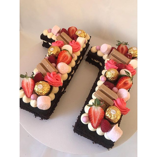 Who doesn't love a number cake!__This wa
