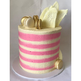 In keeping with the pink theme over the