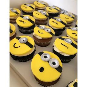 Gotta life some minion cupcakes to brigh