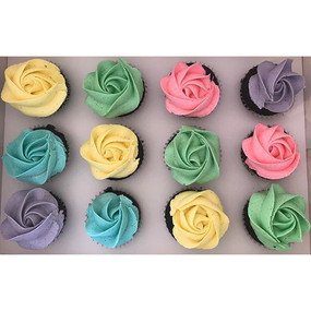 How cute are these pastels! Food colouri