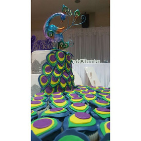 This was my VERY FIRST wedding cake and