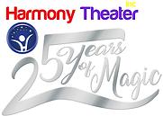 25 Anniversary Harmony Theater Logo