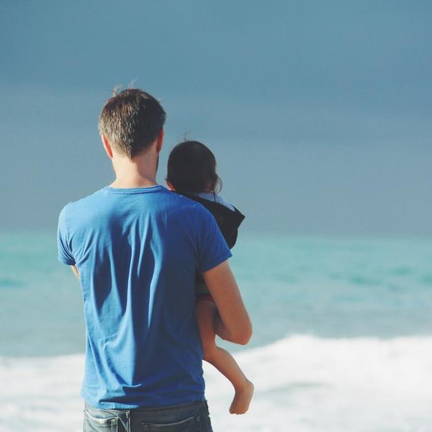 Fathers are Raising Children Alone.