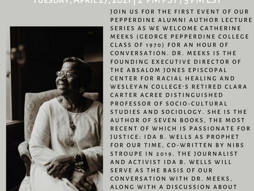 Pepperdine Alumni Author Lecture Series:Dr. Catherine Meeks