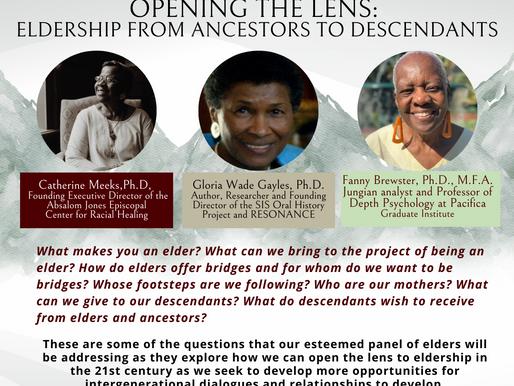 """Opening the Lens: Eldership From Ancestors to Descendants"""