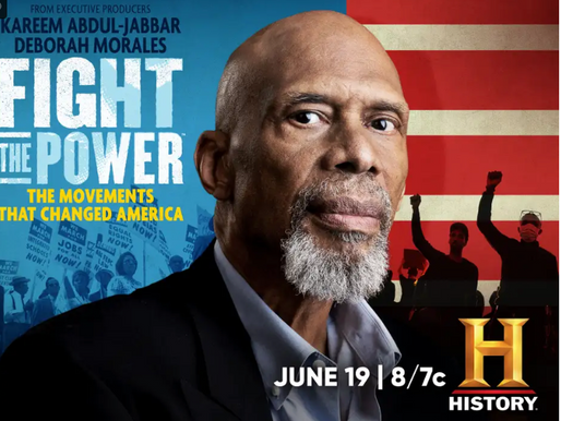 With Fight the Power, Kareem Abdul-Jabbar Chronicles America's History of Social Justice