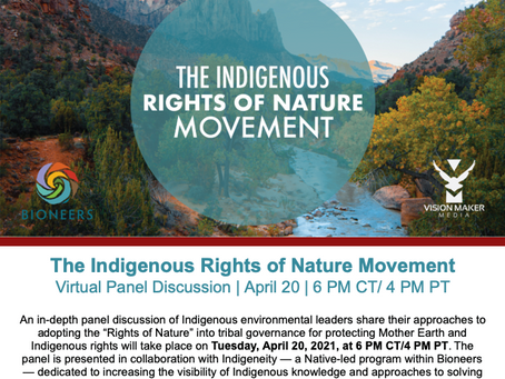 The Indigenous Rights of Nature Movement