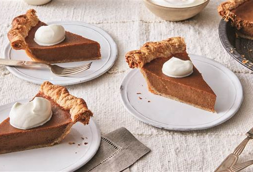 The Civil Rights Movement had pie fundraisers.