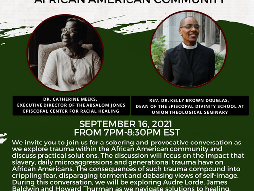 Exploring Trauma & Healing In The African American Community