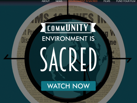 Environment is Sacred