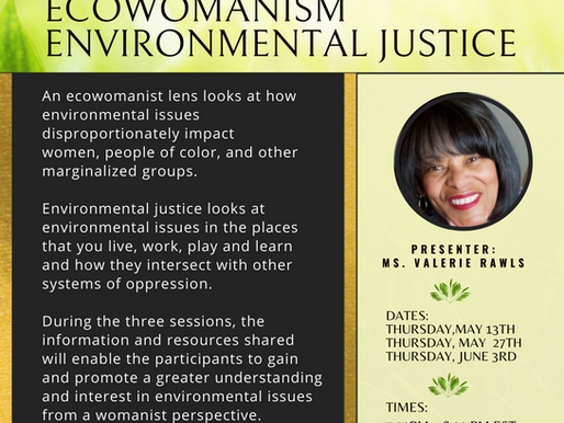 Ecowomanism and Environmental Justice