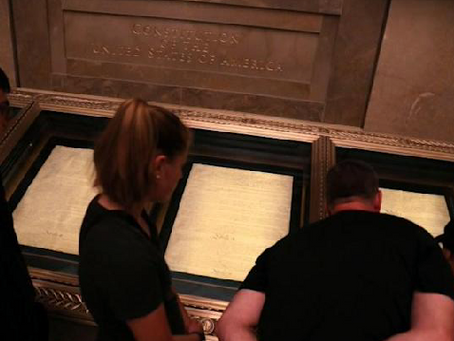 National Archives' Racism Task Force Labels Own Rotunda Example of 'Structural Racism'