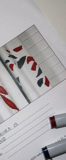 Gardiner med motiv og farve efter kundens ønske gardinstof gardiner