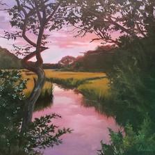 Corey Creek at Sunset