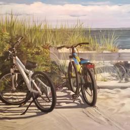 Bikes at New Suffolk