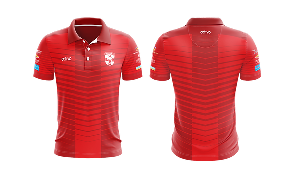 Club Polo Shirt RED (Manager and Coaches only)