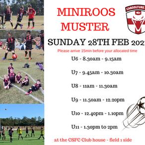 MiniRoos Muster 2021