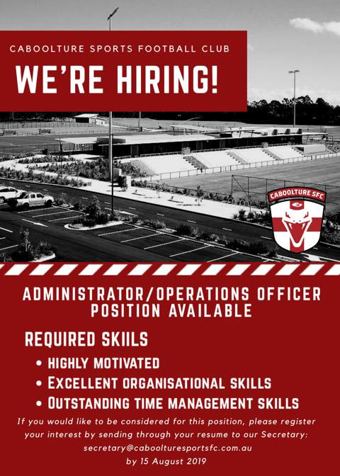 We are Hiring Operations / Administration Officer
