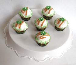 Salted Caramel Mini Cupcakes