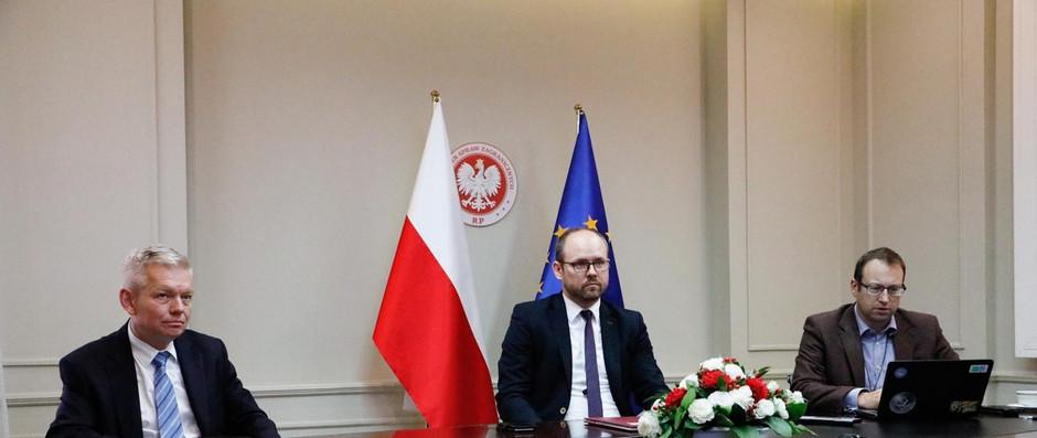 Wiceminister Marcin Przydacz uczestniczył w posiedzeniu Rady Bezpieczeństwa ONZ