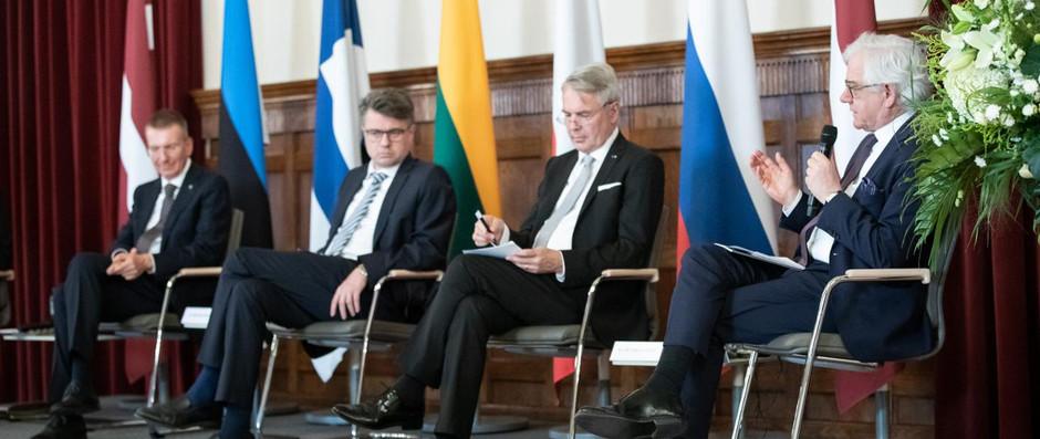 Wizyta ministra Jacka Czaputowicza w Rydze